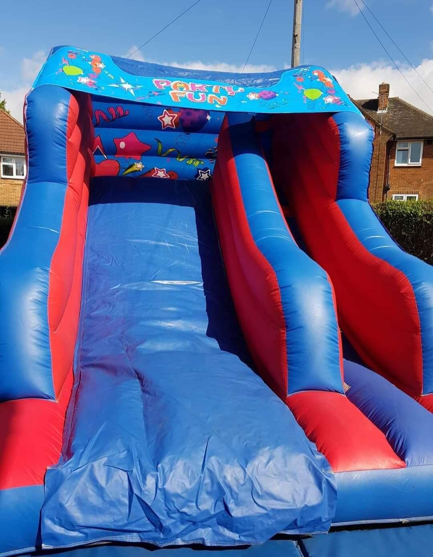 slide castle bouncy castle hire leeds