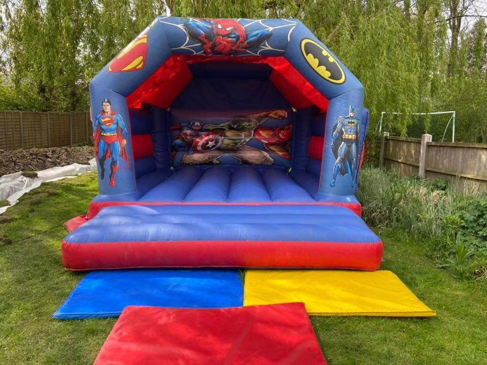 bouncy castle hire leeds